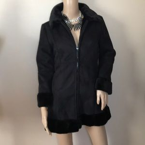 Jackets & Blazers - EUC KC Collections faux Suede jacket